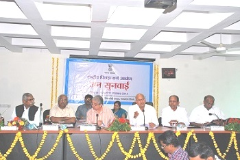 Public Hearing for Inclusion of the Castes/Communities for the Central List of OBCs for the State of Madhya Pradesh  held on 10th & 11th September, 2014 at Bhopal.